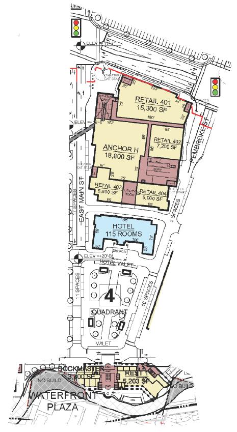 Corridor Site Map